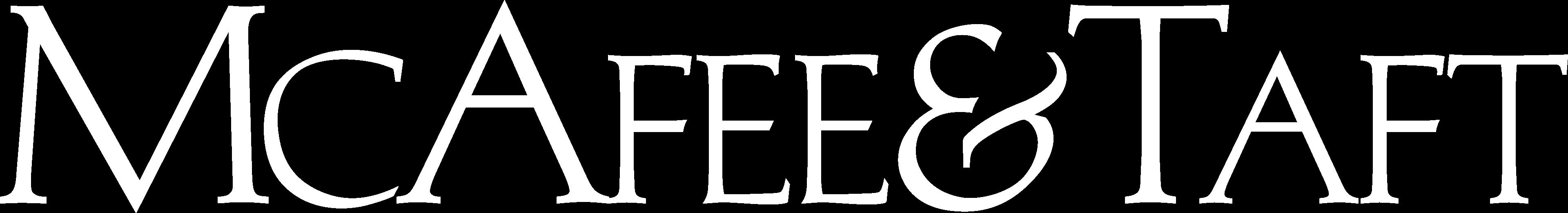 McAfee & Taft Logo